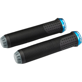 Spank Spike 30 Lock-On Puños, black/blue